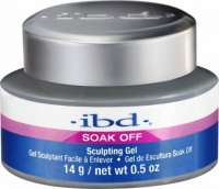 IBD SOAK OFF, Sculpturing Gel Clear, скульптурный гель Прозрачный,14 гр.