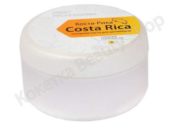 Аюна, Коста-Рика, Сахарная паста для шугаринга средняя, 300 гр.