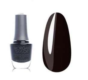 """Morgan Taylor -  Лак для ногтей №50060 """"Маленькое черное платье"""""""