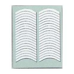 Трафареты-полоски для французского маникюра. 20 шт