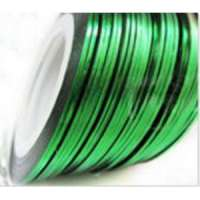 Лента для дизайна ногтей - зеленая