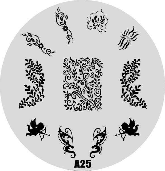 Stamping Пластина № A 25