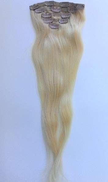 Славянские волосы на заколках  60 см (тон 62)