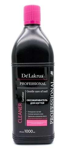 De'Lakrua Professional - Средство для обезжиривания ногтей и снятия липкого слоя, Cleaner, 1 л.
