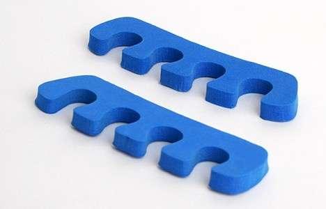 White Line, Разделитель для пальцев, голубой, 1 пара.