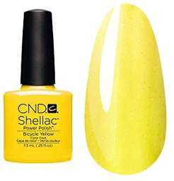 CND Shellac, гель-лак Bicycle Yellow # 93, 7.3 мл.
