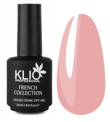 KLIO Professional French Collection камуфлирующий гел-лак № 9, 15 мл.