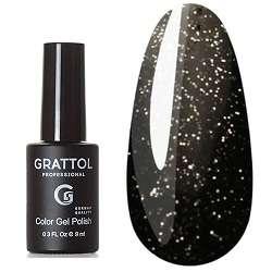 Grattol, Гель-лак Luxury stones, Agate 10, 9 мл.