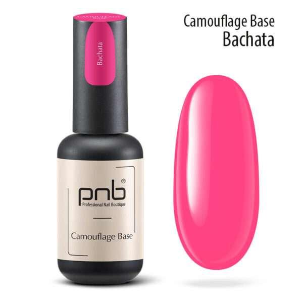 PNB UV/LED Camouflage Base Bachata, Камуфлирующая база Pink 8 мл.