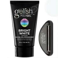 Gelish PolyGel Bright White, 60 г. (ярко-белый полигель)