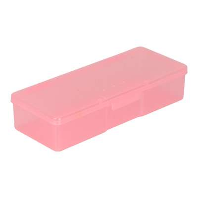 Бокс для кистей и инструментов, розовый.