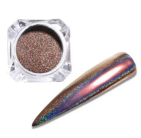 Втирка Prisma Platinum № 7, цвет бронзовый