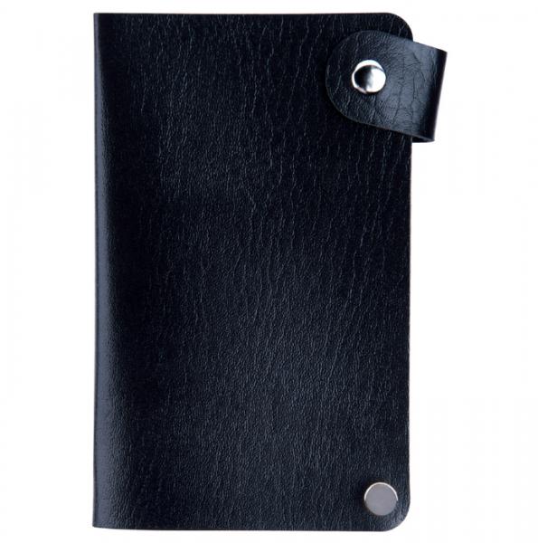 IRISK Кейс-органайзер для стемпинг-трафаретов, 6*12 см., 24 слота, черный