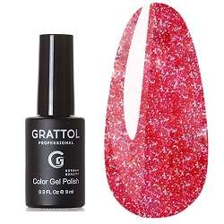 Grattol, Гель-лак Luxury stones, Diamond № 02, 9 мл.