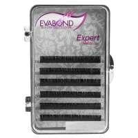 Ресницы на ленте EVABOND Expert, 0,12 D-изгиб, 10мм