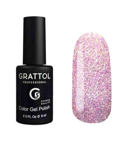Grattol, Гель-лак Luxury stones, Quartz № 06, 9 мл.
