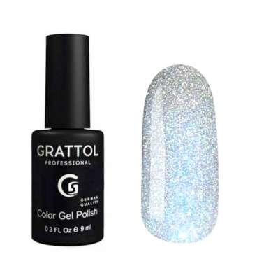 Grattol, Гель-лак Luxury stones, Quartz № 02, 9 мл.