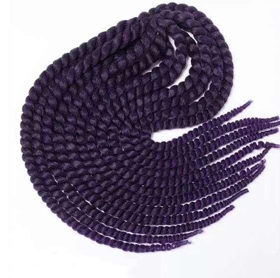 Мамбо Твист № 1B/Purple - 12 шт, 65 см, 120 гр.