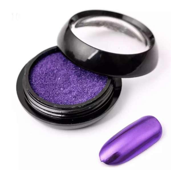 Зеркальная втирка, пурпурная