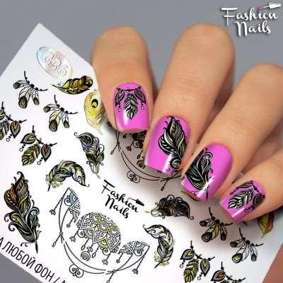 Fashion Nails, слайдер-дизайн, G-36