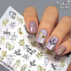 Fashion Nails, слайдер-дизайн, G-48