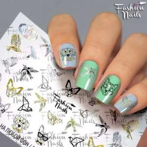 Fashion Nails, слайдер-дизайн, G-49