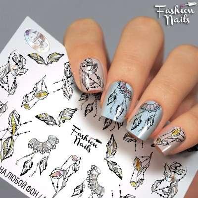 Fashion Nails, слайдер-дизайн, G-53