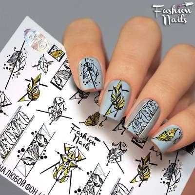 Fashion Nails, слайдер-дизайн, G-70