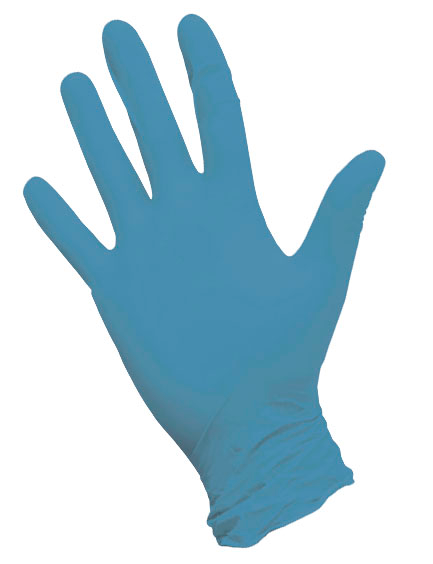 """Nitrimax Нитриловые перчатки (голубые) размер """"S"""", 100 шт"""