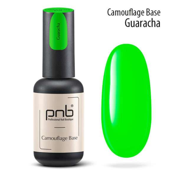 PNB UV/LED Camouflage Base Guaracha Камуфлирующая база Green, 8 мл.