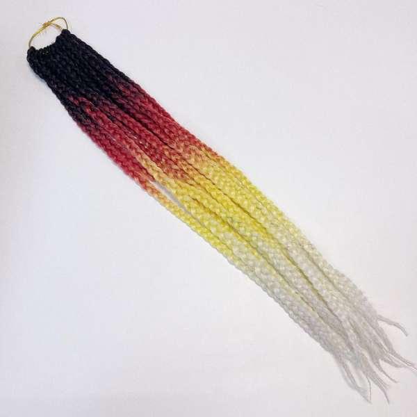 Афрокосички омбре трехцветные № 47