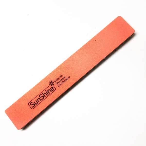 Sunshine Баф широкий (100/180 грит), оранжевый