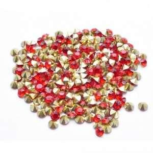 Swarovski Crystal Хрустальная крошка SS3, красные