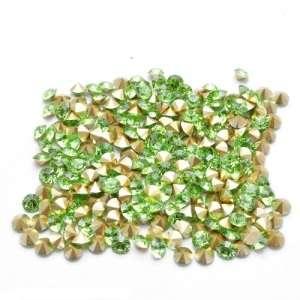 Swarovski Crystal Хрустальная крошка SS5, салатовые