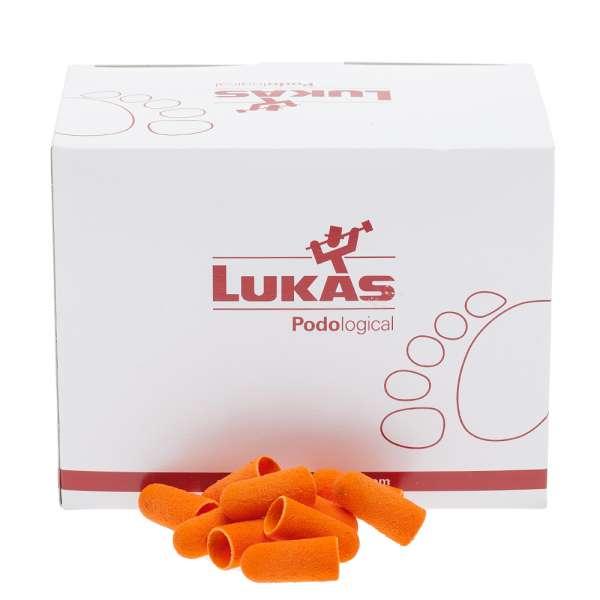 Lukas Podo Колпачок абразивный D=11 (280) мелкая крошка, 50 шт.