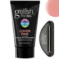 Gelish PolyGel Cover Pink, 60g - камуфлирующий розовый полигель
