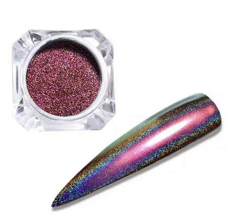 Втирка Prisma Platinum № 6, цвет красный