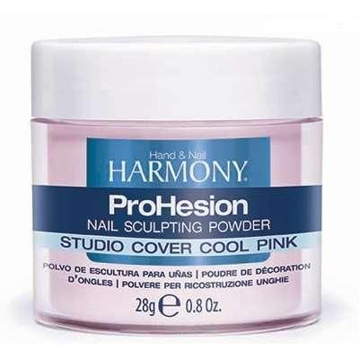 Harmony Studio Cover Cool Pink Powder, 28 g - камуфлирующая светло-розовая акриловая пудра, 28 г