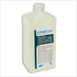 Астрадез Лайт, Дезинфицирующее средство для поверхностей, приборов и аппаратов, (концентрат) 1л.