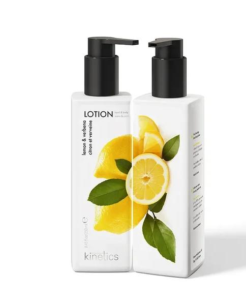 Kinetics Лосьон для рук и тела Лимон и Вербена, 250 мл.