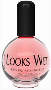 INM -  Закрепитель лака с эффектом блеска, Looks Wet, 75 мл.