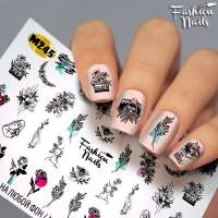 Fashion Nails, слайдер-дизайн, M245