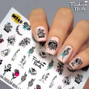 Fashion Nails, слайдер-дизайн, M245