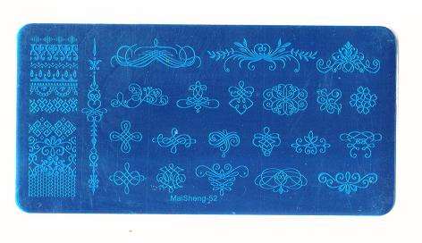 Stamping Пластина MaiSheng-52