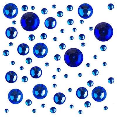 Стразы Crystal Mix размеров Sapphire № 2