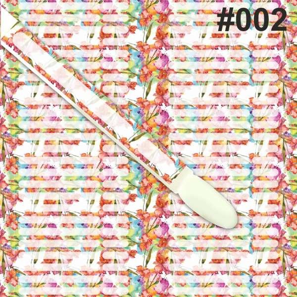 Наклейки на типсы, № 002