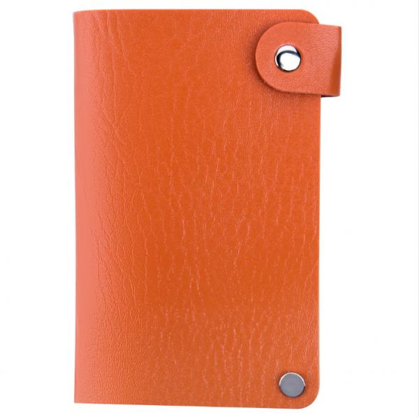IRISK Кейс-органайзер для стемпинг-трафаретов, 6*12 см., 24 слота, оранжевый