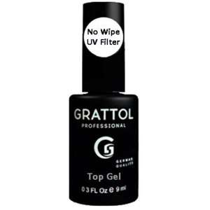 Grattol Топ для гель-лака  No Wipe UF Filter TOP Gel, 9мл