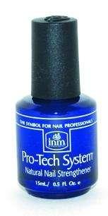 INM, Pro-Tech System, Средство для усиления роста и укрепления ногтей, 15 мл.