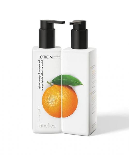 Kinetics Лосьон для рук и тела Пряный апельсин и Сандаловое дерево, 250 мл.